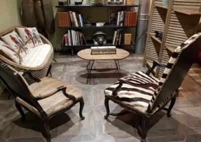 Chambre Livingstone espace salon