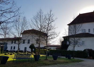 Château des Périchons vue extérieure