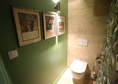 Château des Périchons suite Livingstone Toilettes indépendantes
