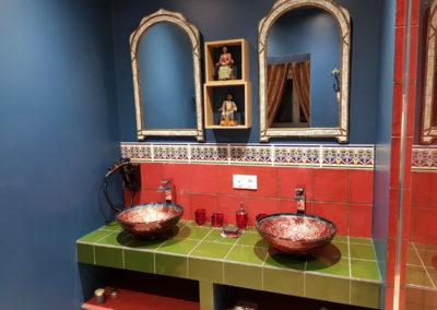 Château des Périchons suite Marco Polo Salle de bains