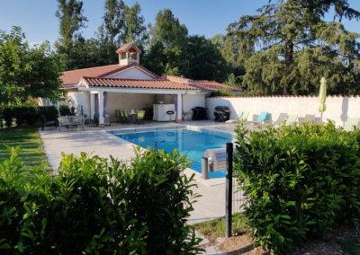 Château des Périchons espace piscine