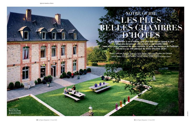 Le château des Périchons sélectionné par le Figaro Magazine